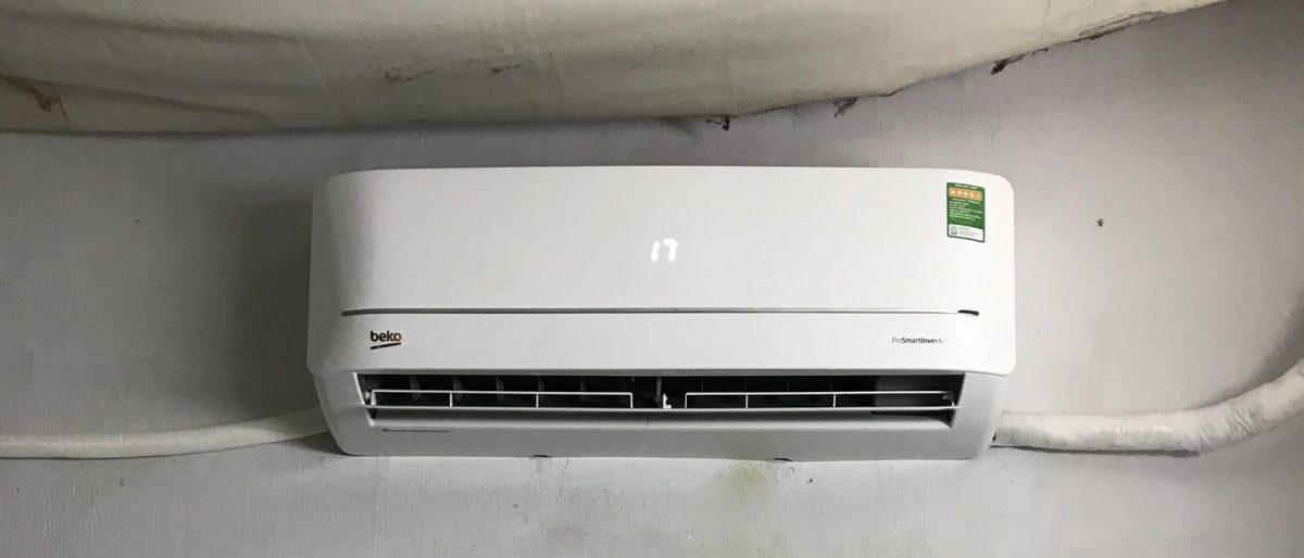 Lắp đặt máy lạnh Beko hàng mới