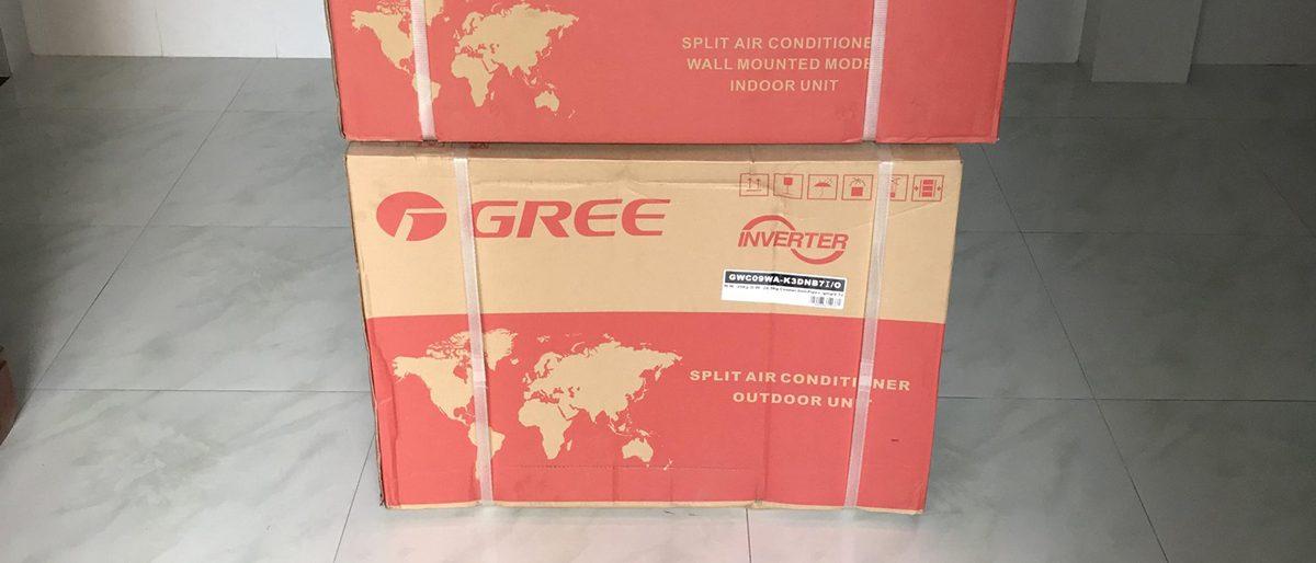 Lắp đặt máy lạnh Gree