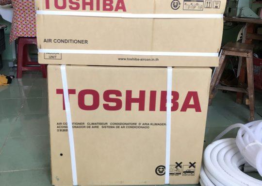 Nhà cấp 4 nhưng vẫn thích Toshiba