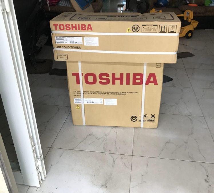 Toshiba về với khách hàng