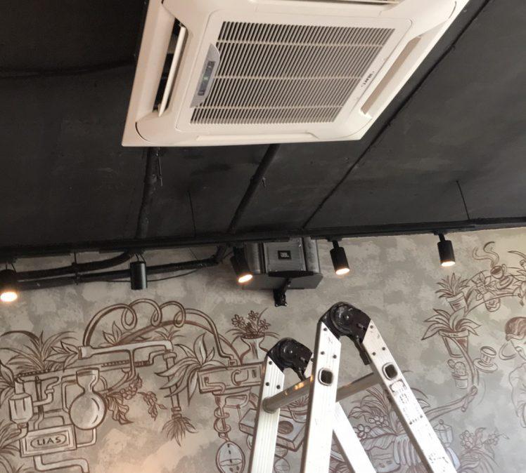 Setup hệ thống lạnh quán cafe